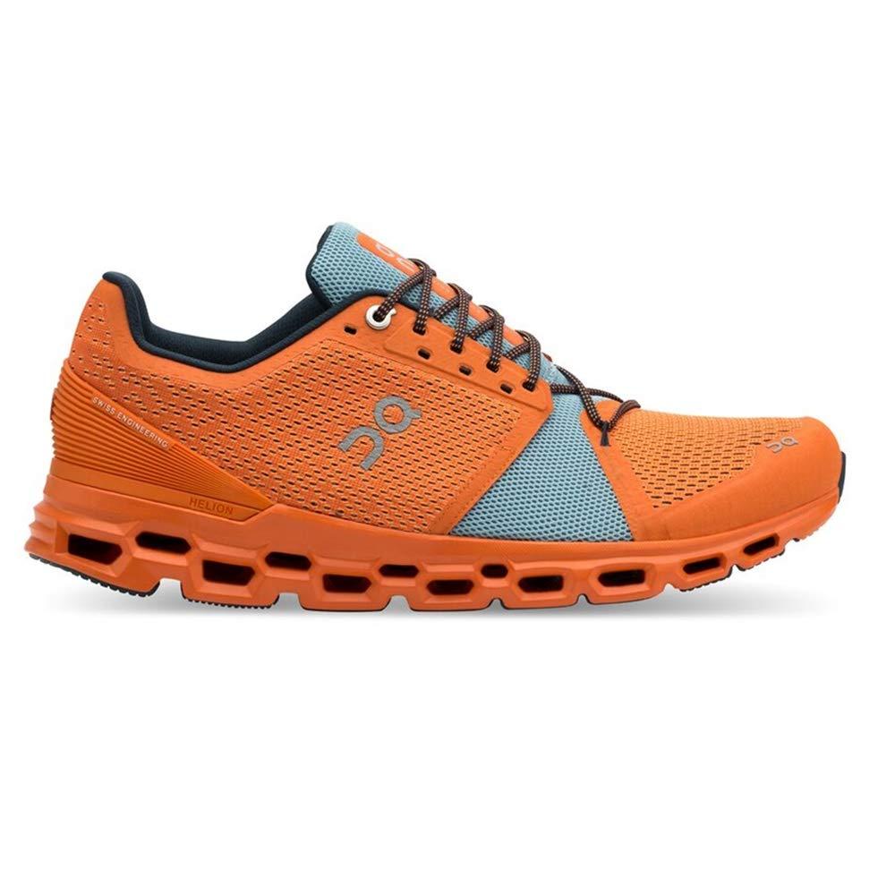 ON Cloudstratus - Hauszapatos de Running para Hombre, 99868 naranja   Wash, 10