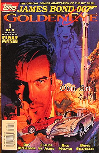 James Bond 007/Golden Eye #1 Vol 1