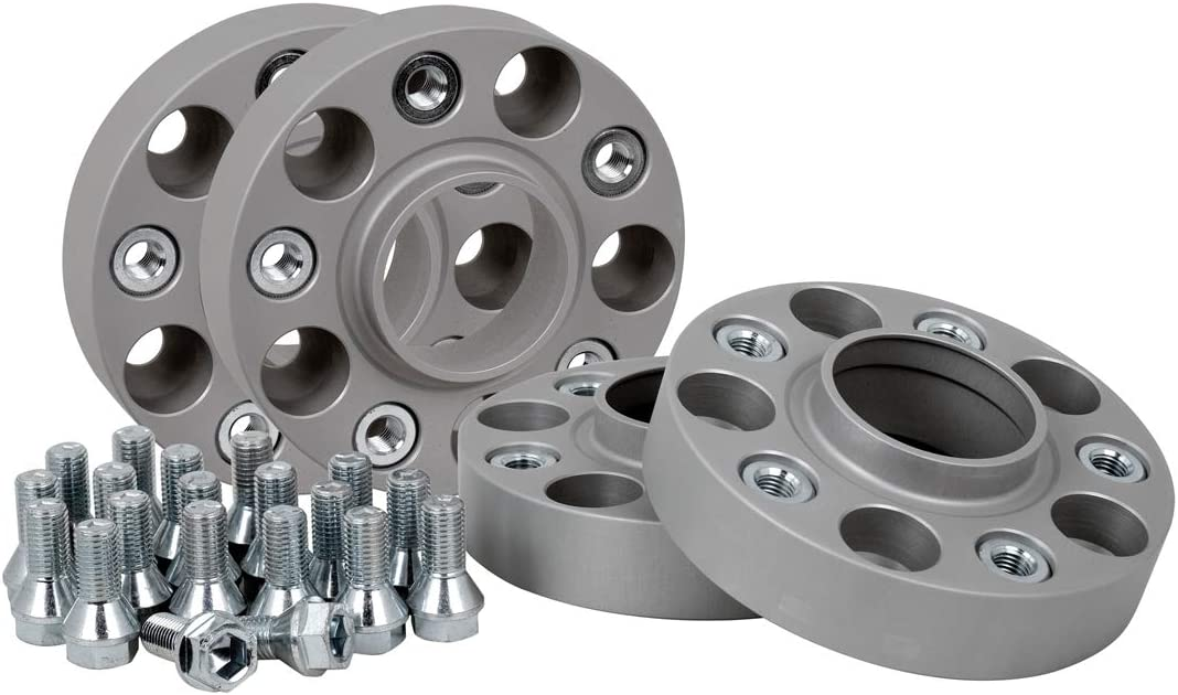 30 mm por disco//60 mm por eje 4 unidades Separadores de acoplamiento de aluminio incluye certificado de piezas T/ÜV.