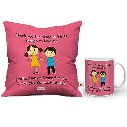 Buy Indi ts Rakshabandhan Gifts Thank You For Protct Me