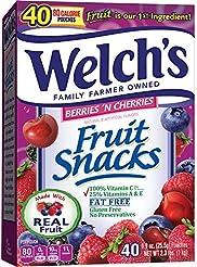 Welch's Berries 'n Cherries Fruit Snacks...