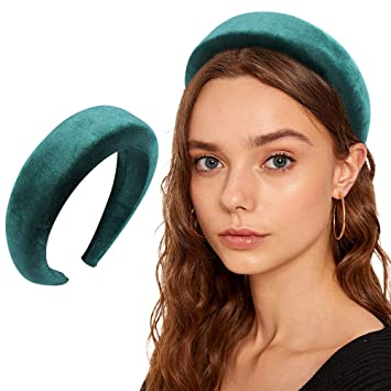 Padded Headbands Fashion Women Thick Velvet 90s Hair Accessories​