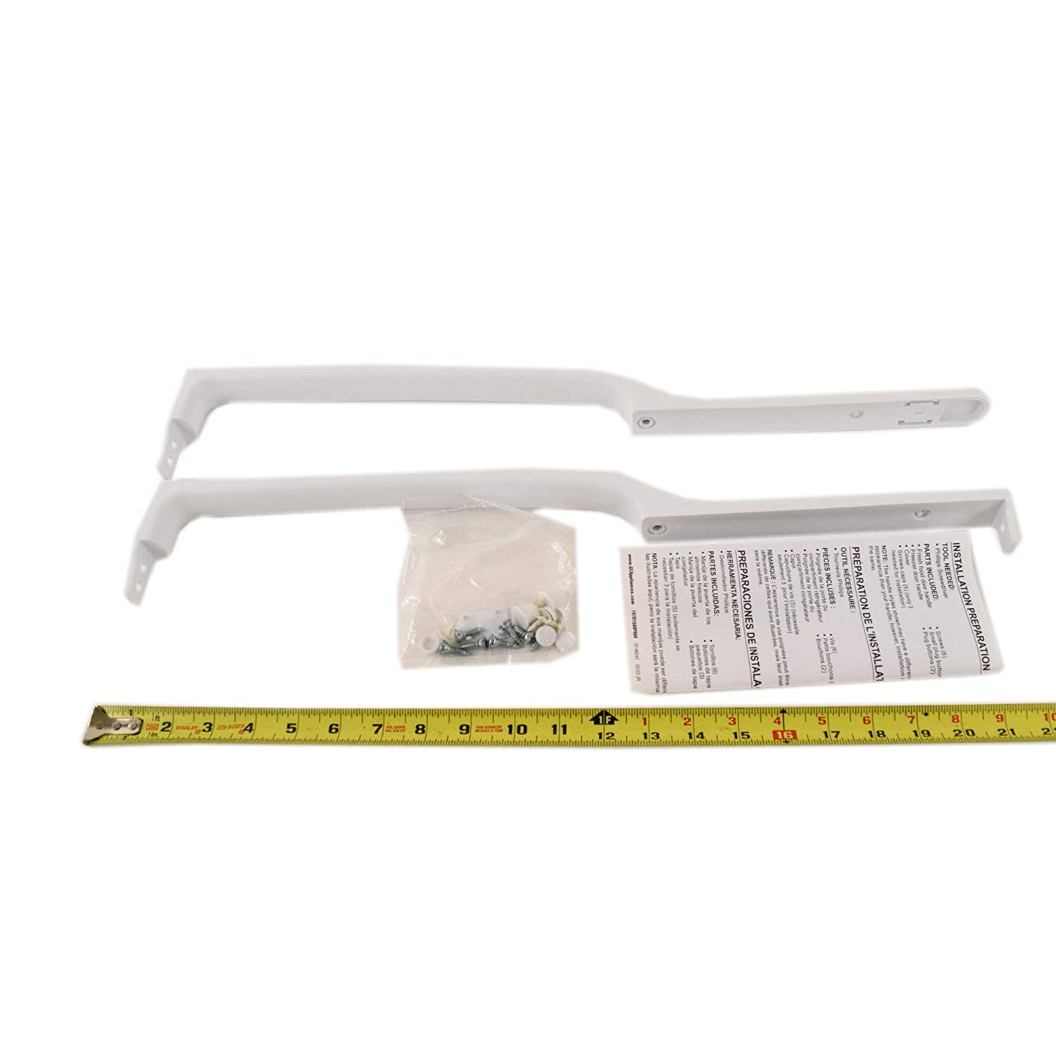 Amazon.com: GE WR12X10760 Parts Handle Small Assembly: Home Improvement