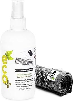 Ecomoist - Limpiador natural para teclados y ratones (250 ml)