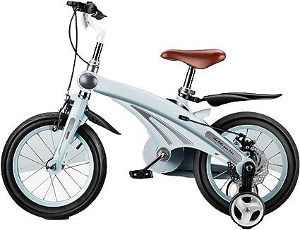 Axdwfd Infantiles Bicicletas Bicicletas for niños Marco ligero de aleación de magnesio, rueda inflable de goma, bicicleta for niños niñas 12 14 16 pulgadas, bicicleta for niños for 2-8 años Regalo for: