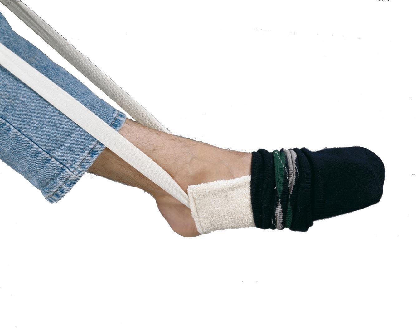 NRS Healthcare M09733 - Calzador de medias y calcetines