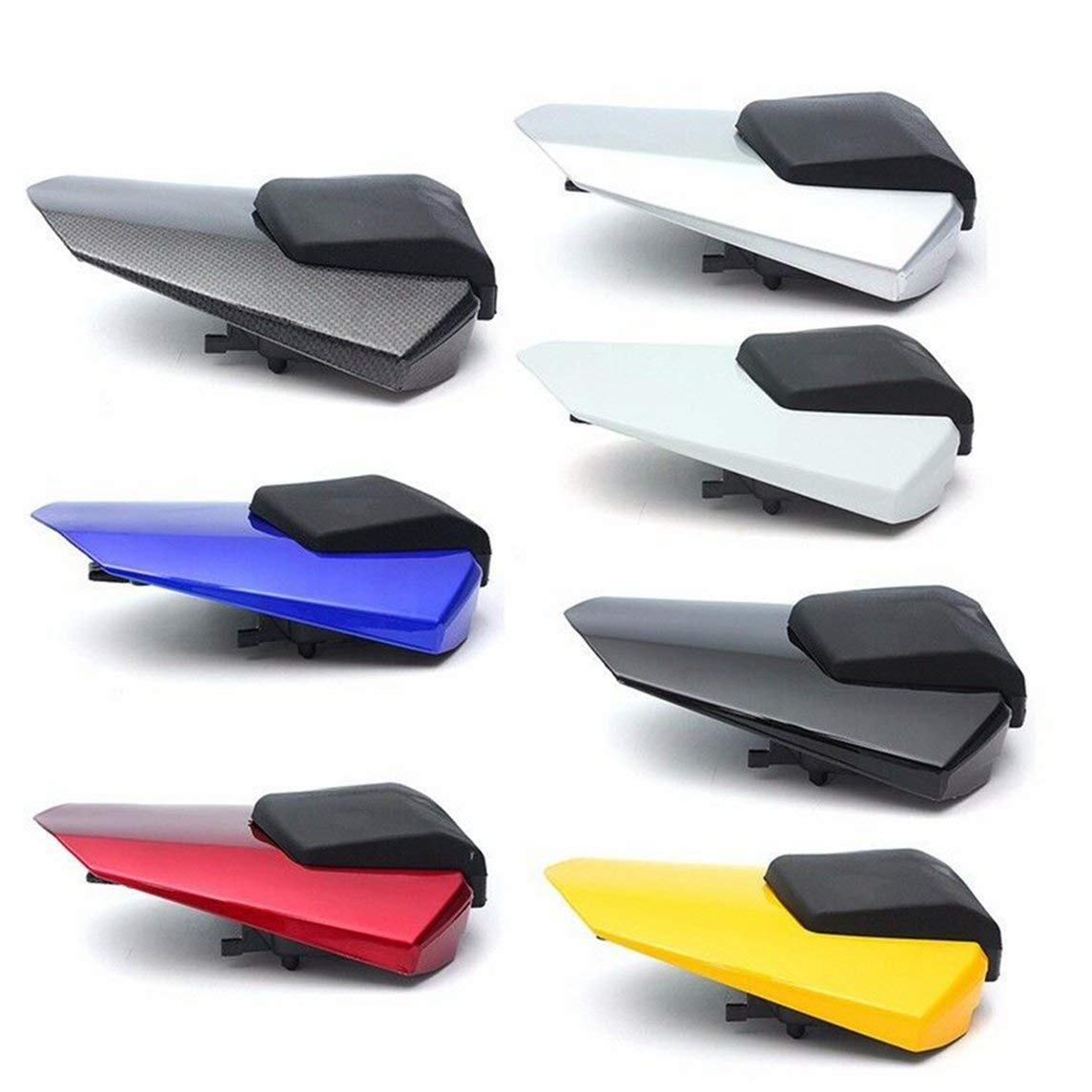 YXTFN Rear Pillion Passenger Cowl Seat Back Cover For Yamaha Yzf R6 2008-2015 2009