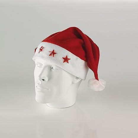 pacchetto alla moda e attraente ultime versioni offerte esclusive Cappello Babbo Nat.C/Stelle