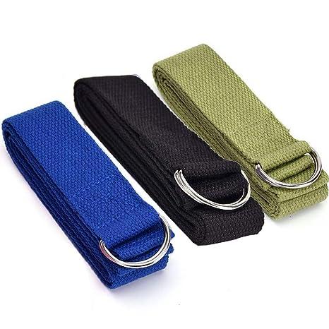 Limeo Cinturón de Estiramiento de Yoga Cinturón de Yoga ...