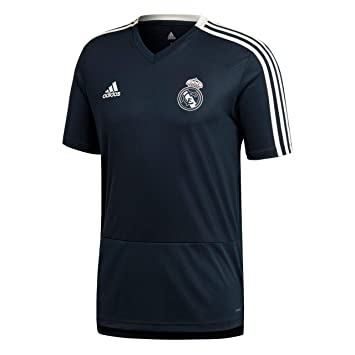 adidas Real Madrid Maillot d entraînement Homme  Amazon.fr  Sports ... ec857f479712d