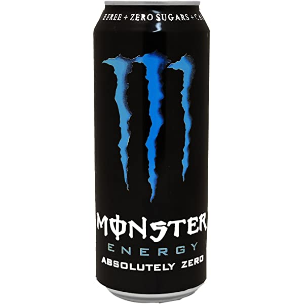 Monster, Absolutely Zero, Bebida Energética, Lata, Pack de 12x500 ...