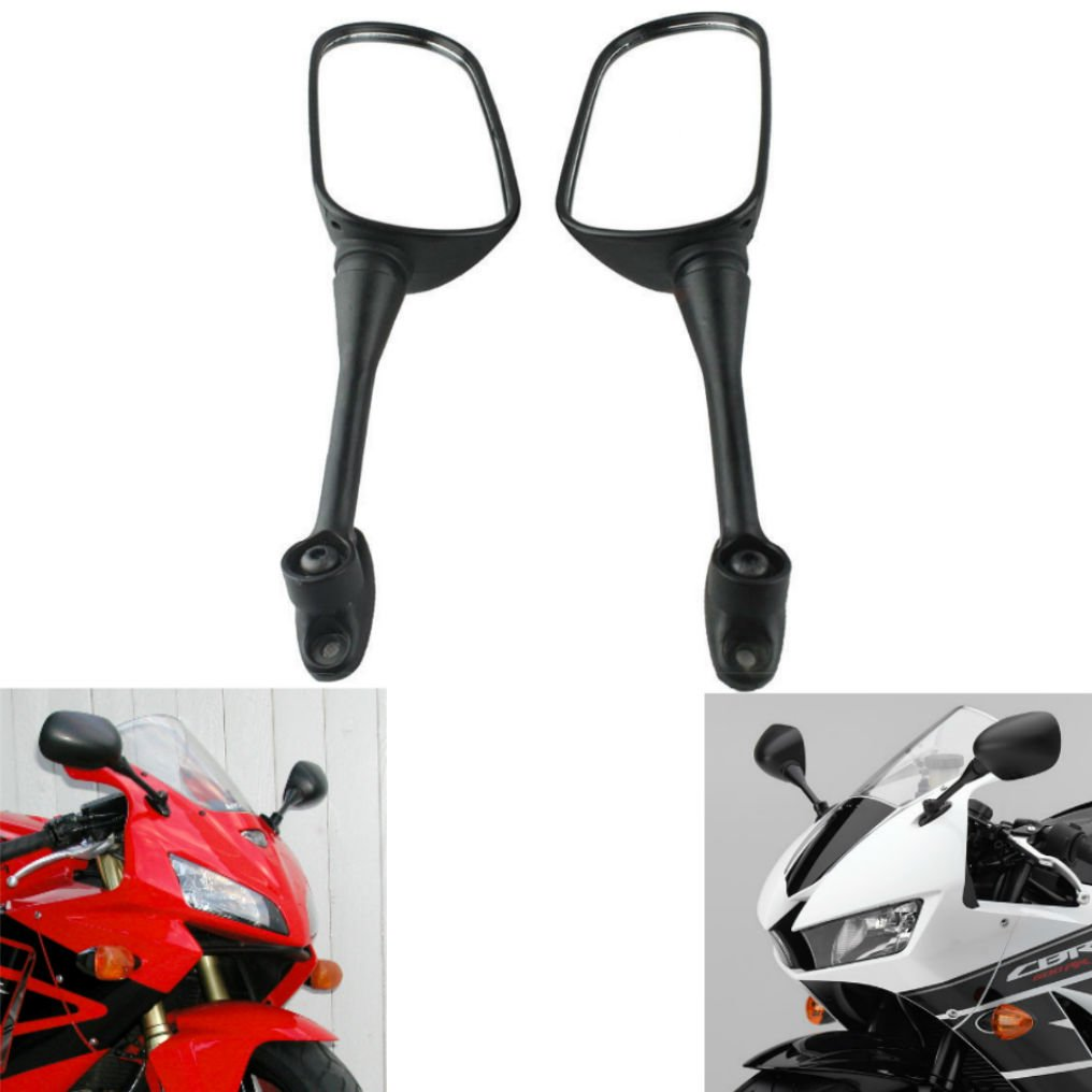 MZS Motorcycle Rear View Mirrors for Honda CBR250R 2011-2017,CBR300R 2015-2018,CBR500R 2012-2017,CBR600RR 2003-2016,CBR1000RR 2004-2007