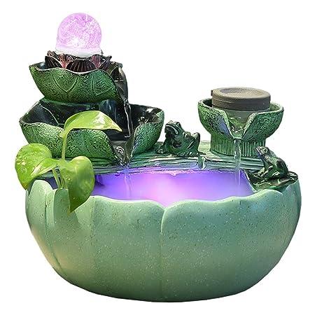 Fuente de Agua de Interior Fuente de interior de la hoja de ...
