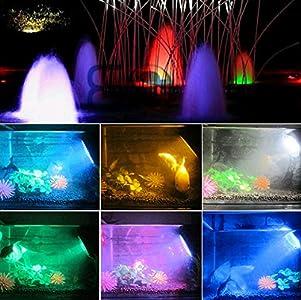 geediar aquarium spot light unterwasserleuchte rgb led. Black Bedroom Furniture Sets. Home Design Ideas