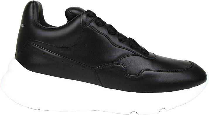 Alexander McQueen Men's Black Leather
