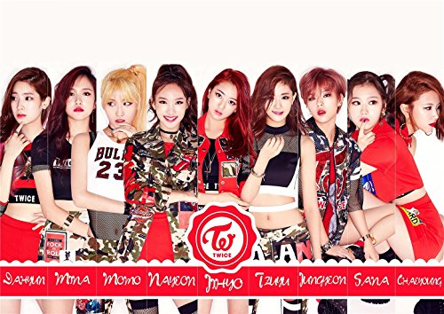 Fanstown Astro Twice Kpop Poster thicken coated paper Fanmade with lomo card#1
