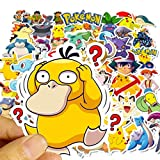 Cute Stickers for Water Bottles[50pcs] Anime Monsters Decals, Vinyl Cartoon Sticker for Laptop Bike Car Guitar Motorcycle Bumper Luggage Skateboard Graffiti, Best Gift for Kids,Children,Teen