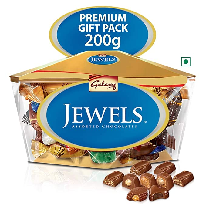Galaxy Jewels, Assorted Chocolates, 200g Box