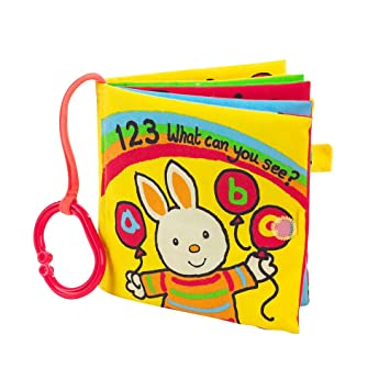 1 2 3 What Can You See Cloth Book From Mothercare Baby Toys For Baby