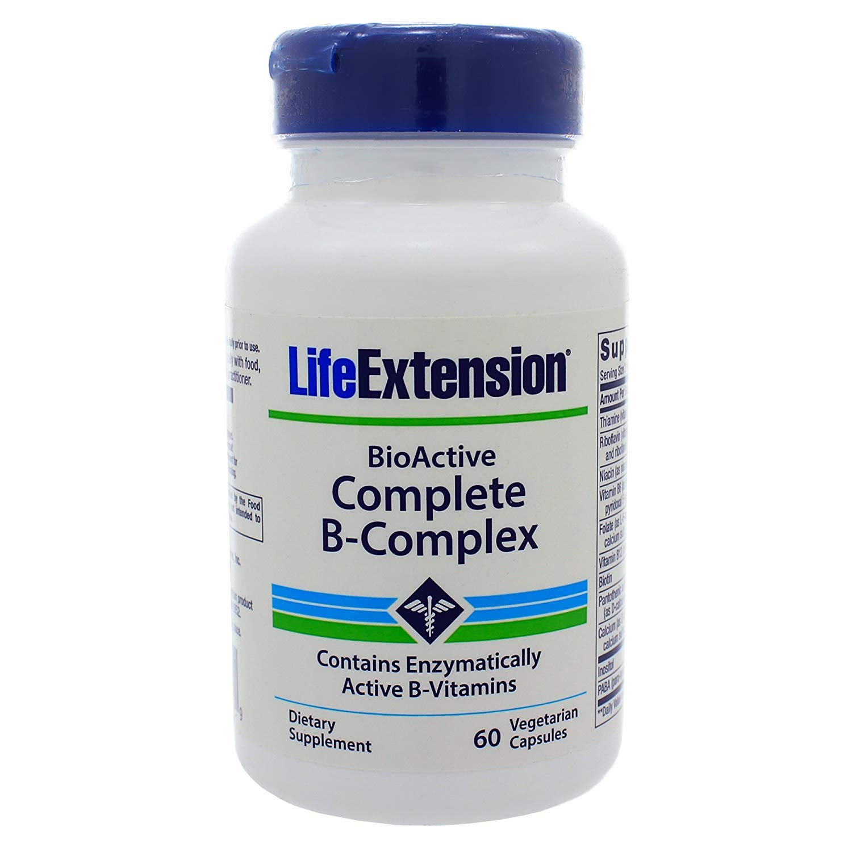 Amazon.com: Vida extensión completa B-Complex Vegetariana ...