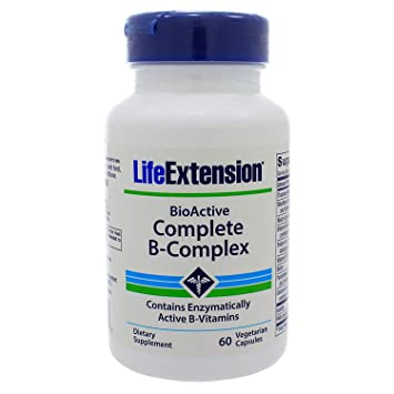 Life Extension Complete B-complex Vegetarian Capsules, 60 Count by Life Extension