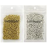 Best Gold Colors With Bead Shapes - LolliBeads (R) Gold and Silver Plated Smooth Round Review