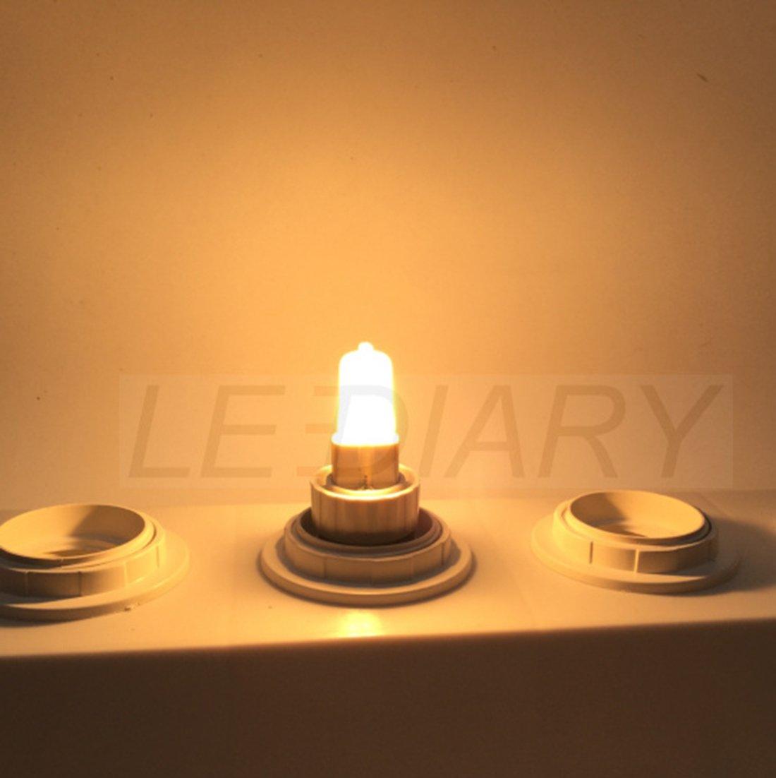 50/W Pour halog/ène G9 Blanc chaud 2700/K G9 25.00 W 240.0 voltsV Lot de 10 ampoules transaparantes /à variation de 220 /à 240/V et 24 20