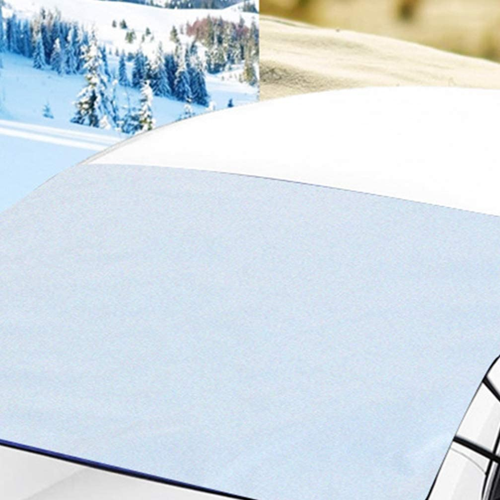 Truck Wakauto Windshield Snow Cover SUV Van or Automobile Windshield Snow Frost Ice Cover Sunshade Snow Covers Fits Most Car 189x98cm
