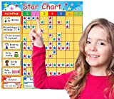 BeeGood Magnetic Reward Chart  Bright, child-friendly and motivational Star Chart with magnetic activities. Promote and reward good behaviour. For up to four children. NEW improved magnets!