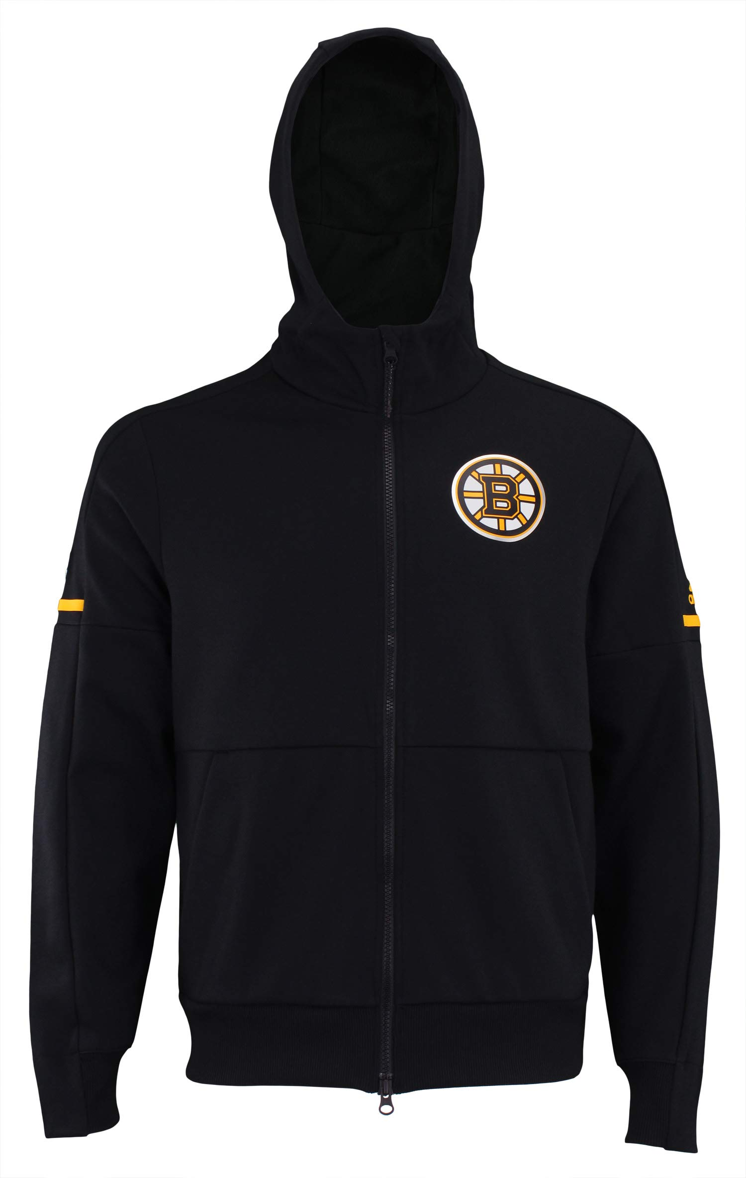 adidas NHL Center ICE Finished ZNE Jacket Bruin BLK ZNE J/NHL Bruins Size S