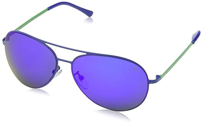 Tous STO311-59517B Gafas de sol, Shiny Full Blue, 59 para ...
