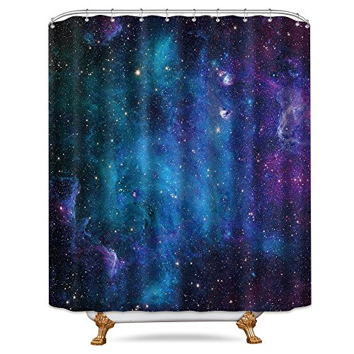 Curtains, Drapes & Valances 3d Planets Galaxy 72 Shower Curtain Waterproof Fiber Bathroom Windows Toilet Complete In Specifications