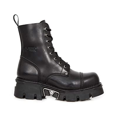 Schwarze Gothic Stiefel