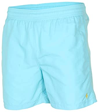 3949a5c4d1 Polo Ralph Lauren Men Pony Logo Swim Trunk | Amazon.com
