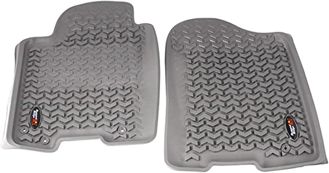 Rugged Ridge All-Terrain 84905.20 Grey Front Row Floor Liner For Select Nissan Armada and Titan Models