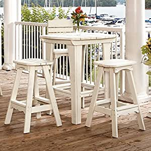 Uwharrie Chair Company Companion Collection Bar Table - Pine - B.T. Gold