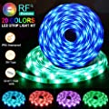 Led Strip Lights Flykul Led Light Strip 32 8ft 10m Waterproof Rgb Smd 5050 300leds Rope Lighting Color Changing Full Kit With 44 Keys Rf Remote Controller And Dc 12v 5a Power Adapter