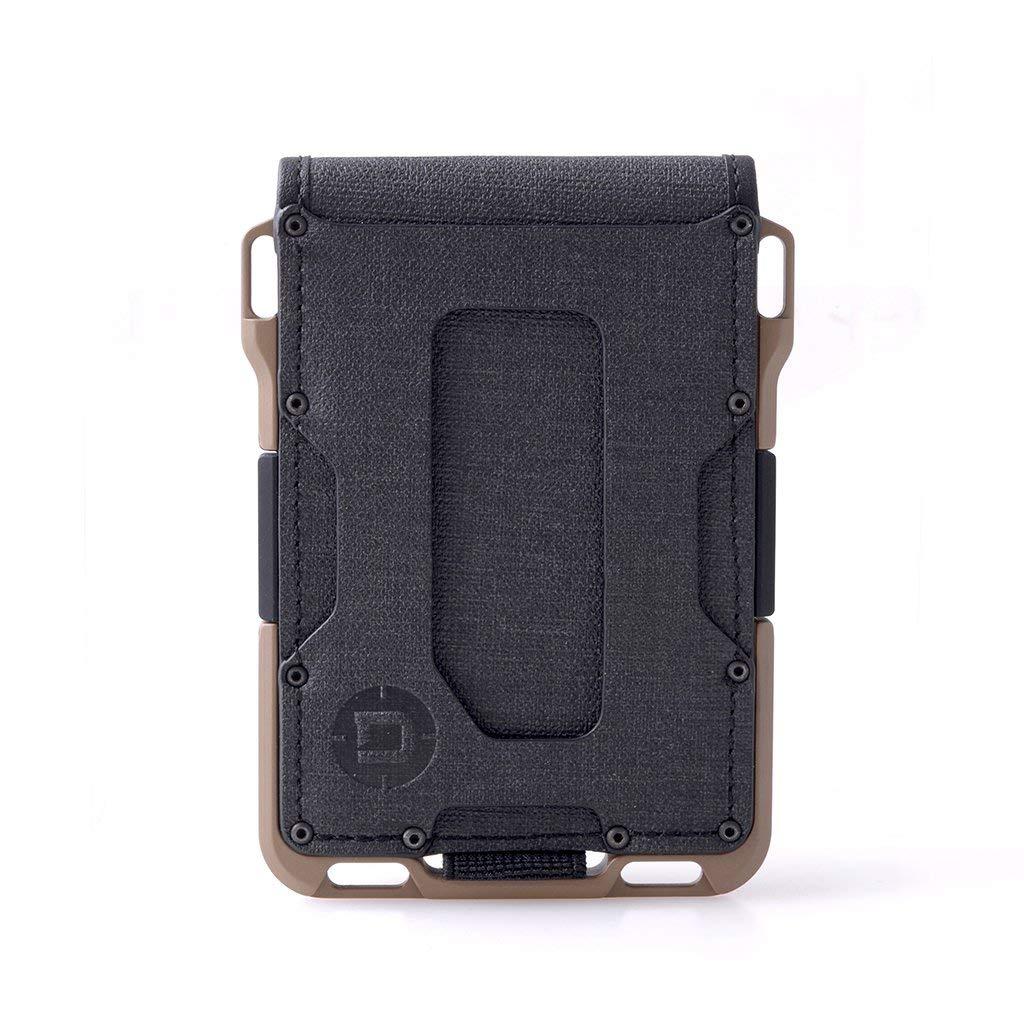 Dango M1 Maverick Spec-Ops Bifold Wallet - Black DTEX/Desert Sand - Made in USA