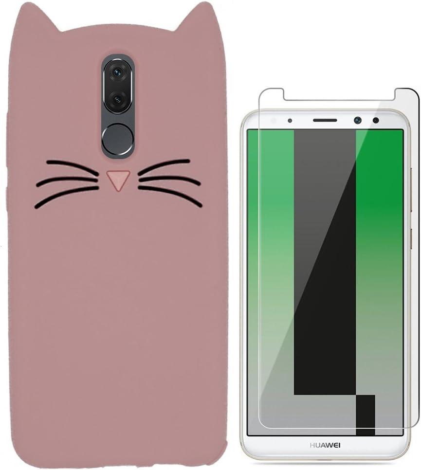 Ash-case Carcasa para Huawei Mate 10 Lite – 3D Silicona Back Cover ...