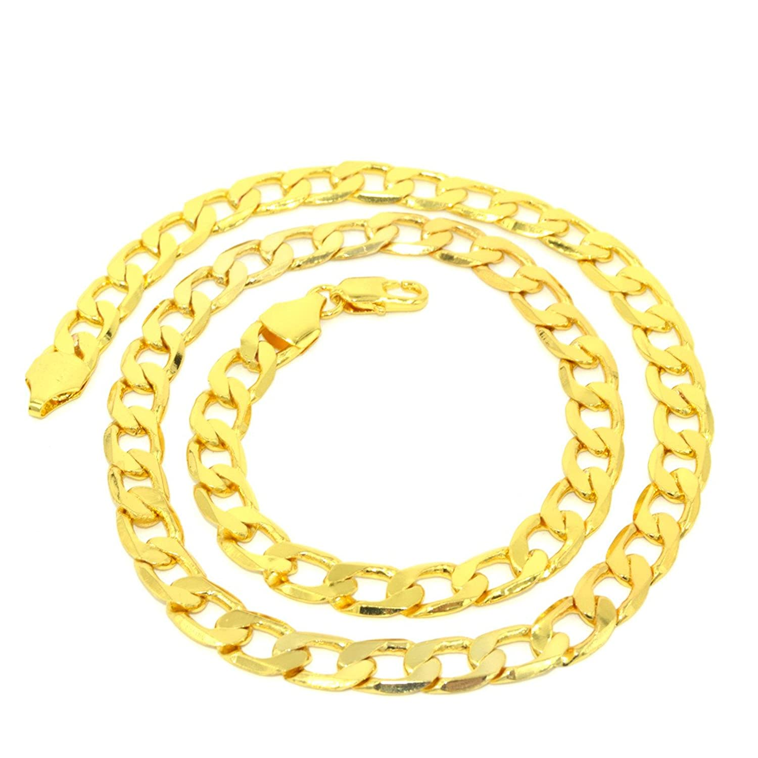 free jewelry chains gold flat women chain plated real shipping christmas snake ornaments africa necklace men in from necklaces item long