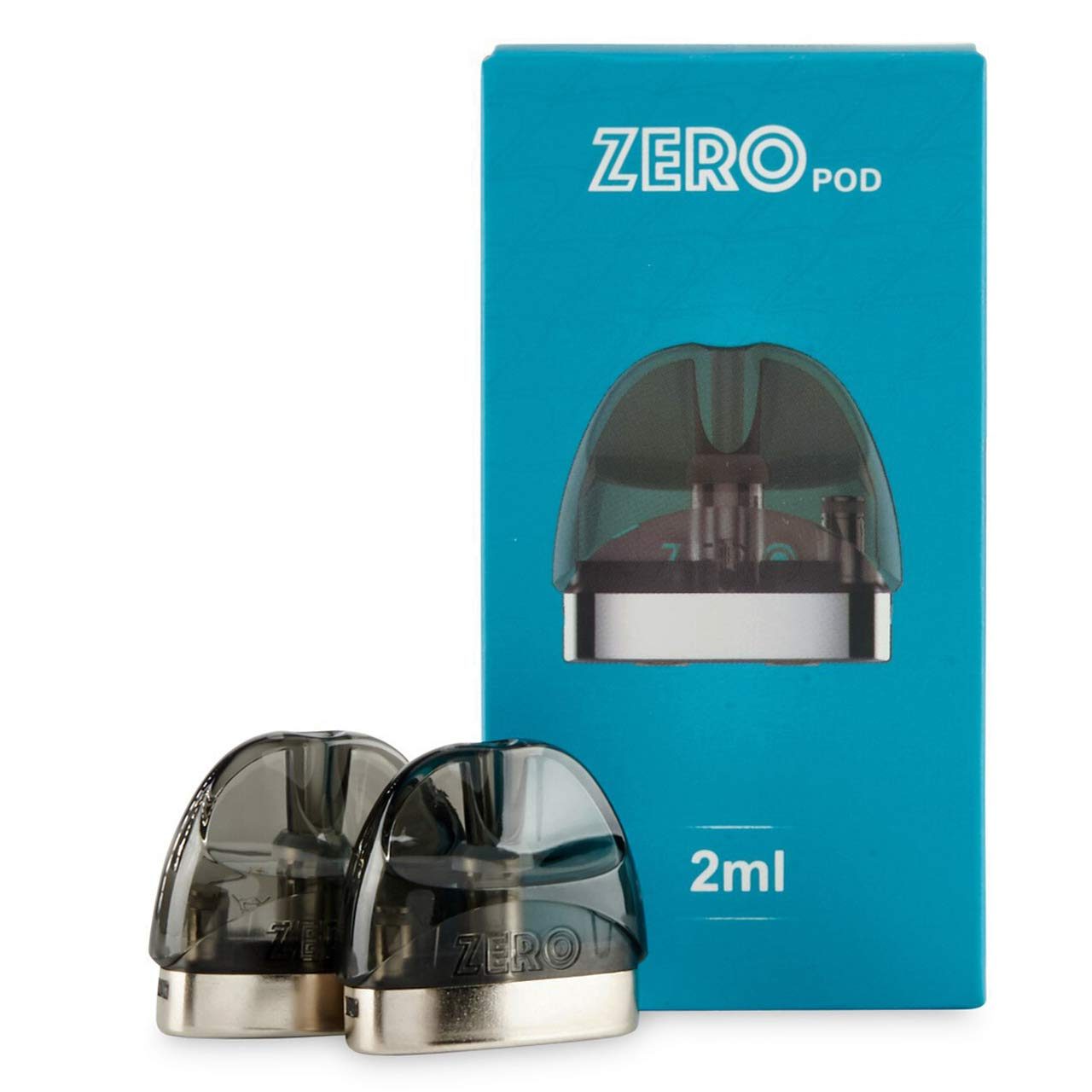 Original Vaporesso Renova Zero Cartridge CCELL Pod (CCELL Pod × 2), 2ml 1.0Ω CCELL Replacement Pod Carteidge for Renova Zero Kit/Zero Kit Care Version, No Nicotine