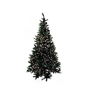 Amazon.com: Northlight Pre-Lit Frosted Mixed Pine Artificial ...