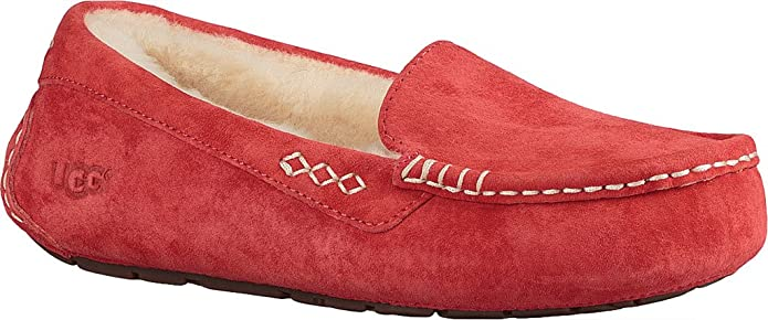 Amazon.com | UGG Womens Ansley Moccasin, Tango, US 12 M | Loafers & Slip-Ons