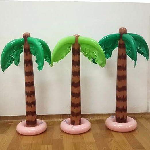 Palmera inflable 90 cm piscina tropical playa fiesta juguetes al ...
