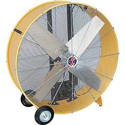 "Q Standard 48"" Belt Drive Drum Fan"