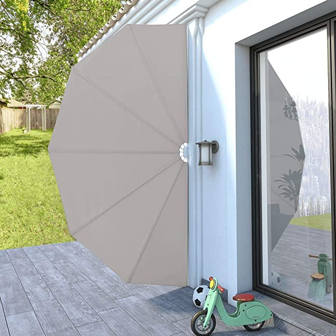 LITEBUF - Toldo Lateral Plegable para terraza (200 cm), Color ...