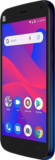 Amazon Com Blu C5 2019 C110l 16gb Gsm Unlocked Smartphone Blue