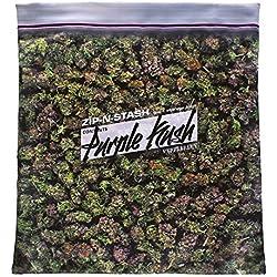 Purple Kush Stash - Baggie of Cannabis Weed Pillowcase