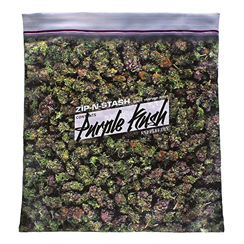 steelplant Purple Kush Stash - Baggie of Cannabis Weed Pillowcase (The Best K2 To Smoke)