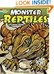 Monster Reptiles: A Close-Up Coloring...